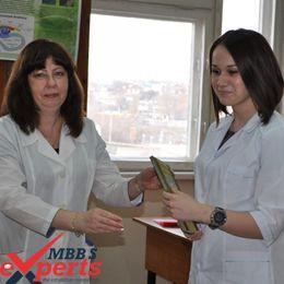Volgograd State Medical University classroom