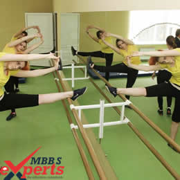 Volgograd State Medical University physical training