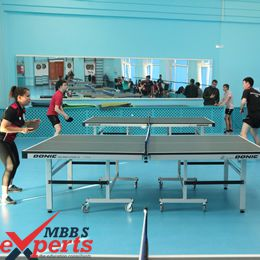 Volgograd State Medical University sports competition