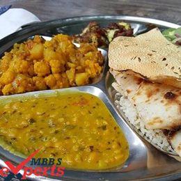 Ama School of Medicine Indian Food - MBBSExperts