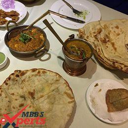 China Medical University Indian Food - MBBSExperts
