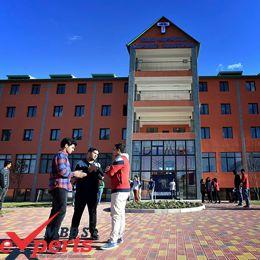 david tvildiani medical university building