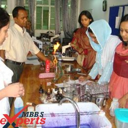 Holy Family Red Crescent College Lab - MBBSExperts