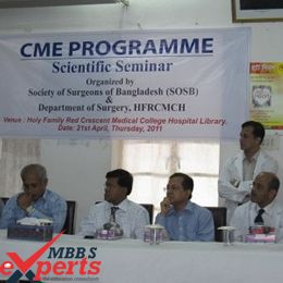 Holy Family Red Crescent College Seminar - MBBSExperts
