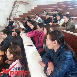 irkutsk state medical university classroom