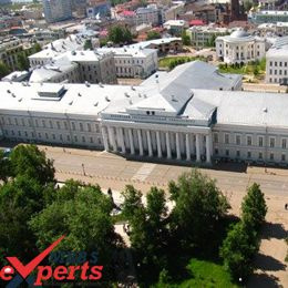 kazan federal university building
