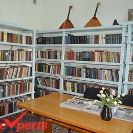 Kyrgyz State Medical Academy Library - MBBSExperts