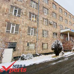 Mkhitar Gosh Armenian Russian International University Building - MBBSExperts