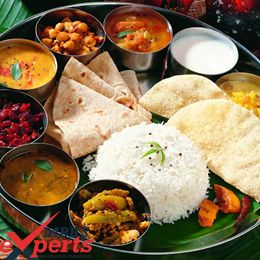 new vision university indian food